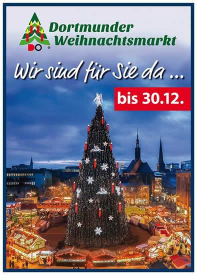 ドルトムントにある世界一のクリスマスツリー
