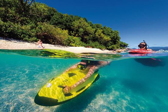 フィッツロイ島で、小型ウォータージェット「シーボブ」を体験!