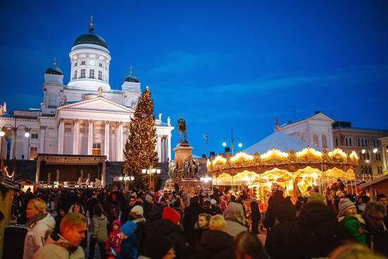 ヘルシンキでクリスマスの魔法にかかる
