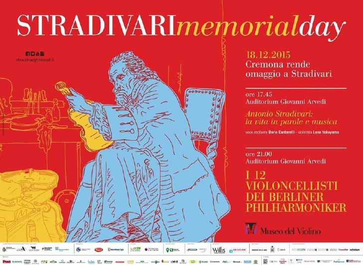 クレモナで「ストラディヴァリ・メモリアルデイ」開催