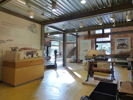 スパルタにあるオリーブオイル博物館