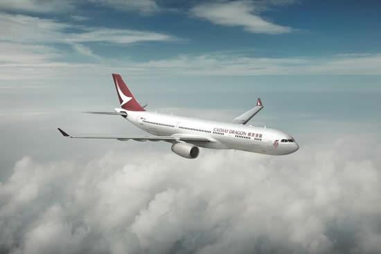 香港ドラゴン航空が「キャセイドラゴン航空」にブランド名を変更