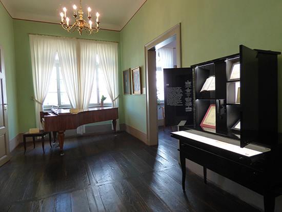 ライプツィヒの「メンデルゾーンハウス」
