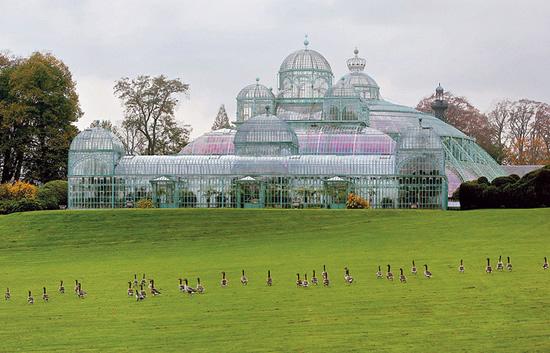 ラーケン王宮の温室、2016年の特別公開が決定!