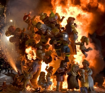 開催間近!バレンシアの「火祭り」
