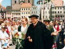 ドイツの珍しいお祭り 「ルターの結婚式」