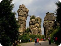 英雄ヘルマンと巨大奇岩群