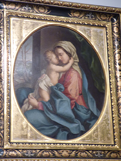 フランツ・ヨーゼフがステファニーに贈ったモザイク画