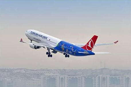 〔EURO 2016〕 ターキッシュ エアラインズの特別機がパリに向けて初飛行!