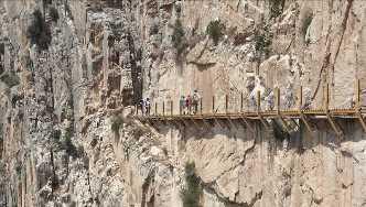 世界一怖いハイキングコース?! スペインの「王の小道」