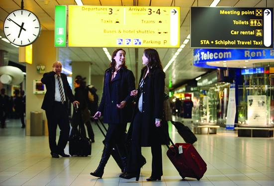 100周年を迎えるアムステルダム・スキポール空港