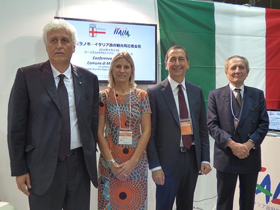 ミラノ市長来日、ヨーロッパで最もクールな街ミラノをアピール