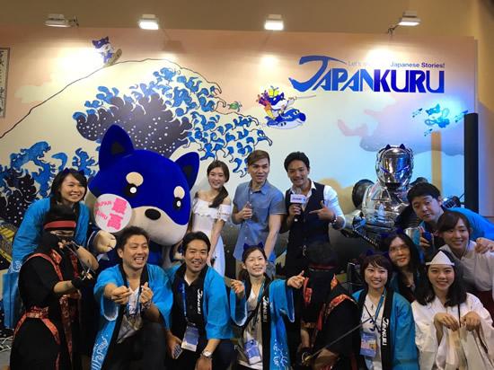 「JAPANKURU」が台北國際旅展でベストブースデザイン賞を受賞!