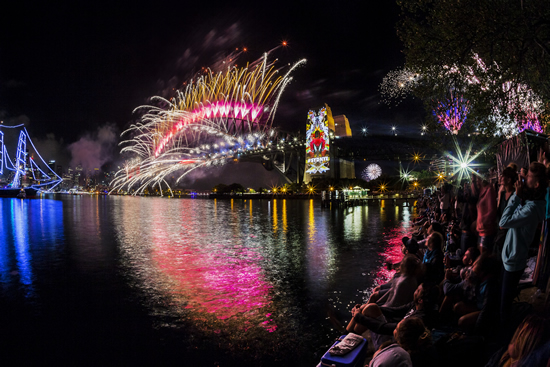 New Year's Eve Fireworks Sydney Mandatory Credit Destination NSW