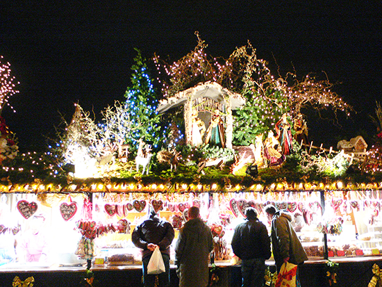 ルフトハンザ航空で行くドイツのクリスマスマーケット