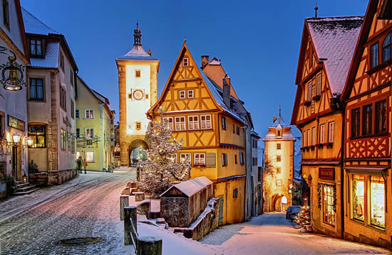 ©Rothenburg Tourismus Service, Ploenlein in Wintertime
