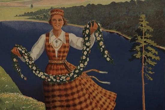 1930年代のラトビア観光プロパガンダは「自国を旅しよう!」