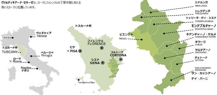 Valdichiana_Senese_map