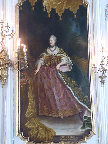 マリア・テレジアの肖像画