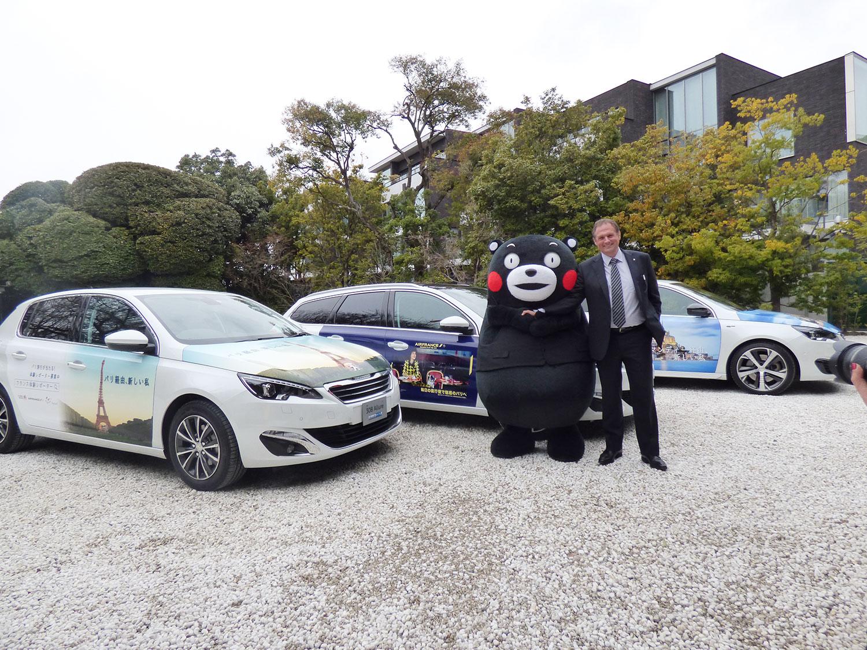 Peugeot308&くまモン