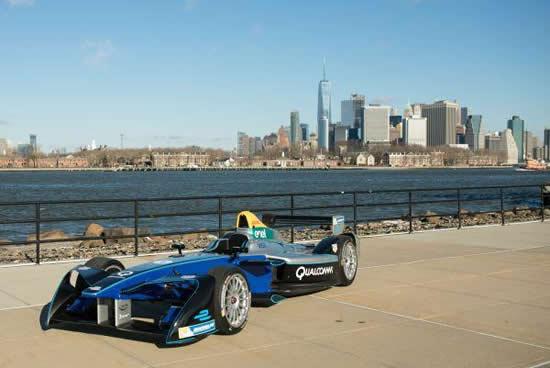 電気自動車がブルックリンを疾走!「ニューヨークシティ ePrix」
