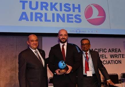 ターキッシュ、PATWA で「ベストエアライン部門 ベスト機内食賞」を獲得