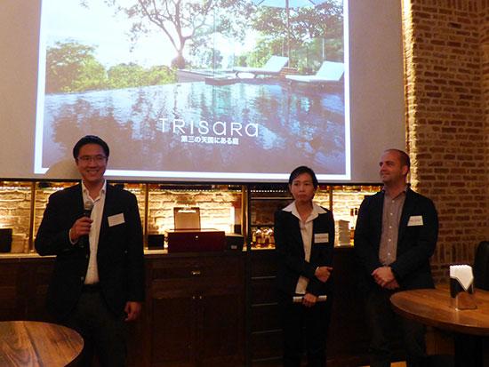 ラグジュアリー・リゾート「トリサラ」がジャパンショーケースを開催