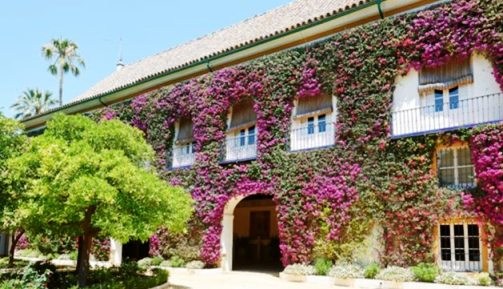 セビージャの「ラス・ドゥエニャス宮殿」