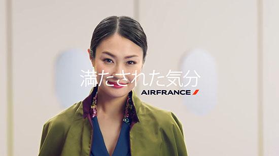 エールフランス航空、新CMで快適なビジネスクラスをアピール