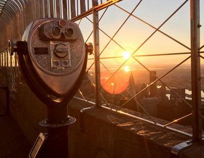 Empire State Realty Trust Easter Sunrise