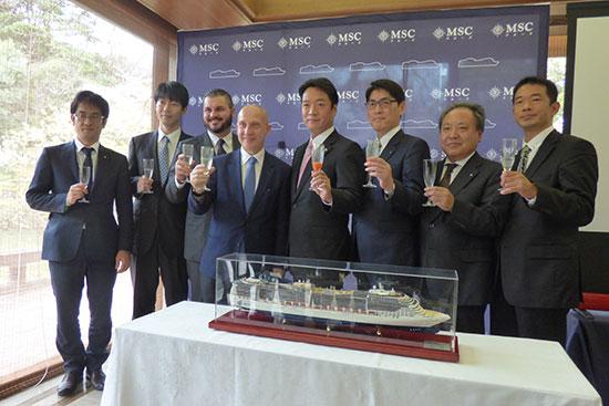 MSCクルーズが新プロダクト「ジャパン・クルーズ」を発表