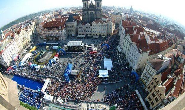 中欧で最も名声の高いマラソン「フォルクス・ワーゲン・マラソン」