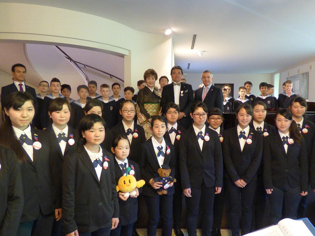 ウィーン市が 「UTAU DAIKU in ウィーン」 の主催者に勲章を授与