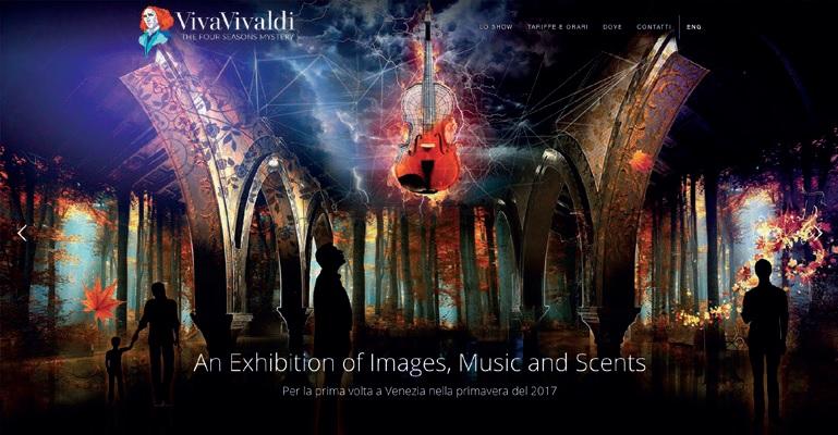 ヴェネツィアに新たな音楽アトラクション「Viva Vivaldi」が誕生!