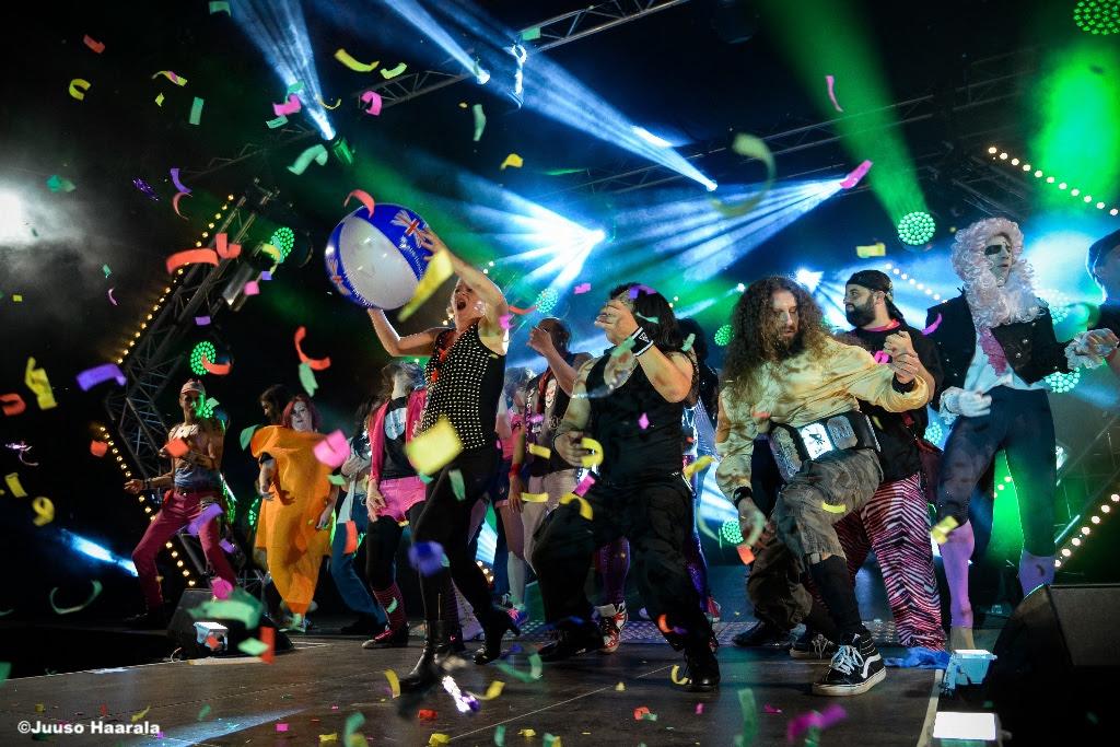 今年もオウルで「エアーギター世界選手権」が開催