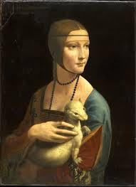 ダ・ヴィンチの『白貂を抱く貴婦人』はクラクフ国立美術館で公開中