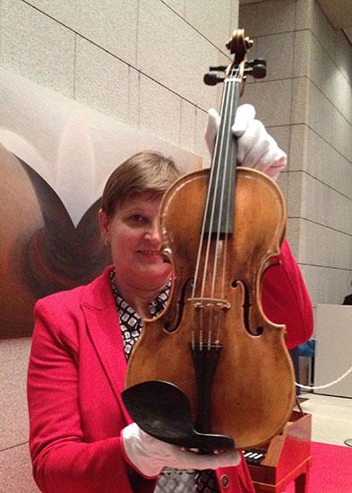 モーツァルトのバイオリン