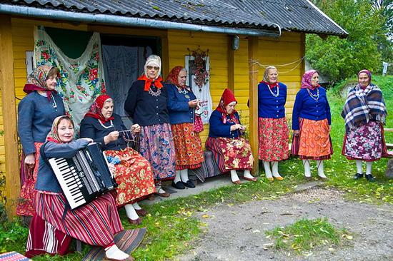 Traditions in Kihnu Island