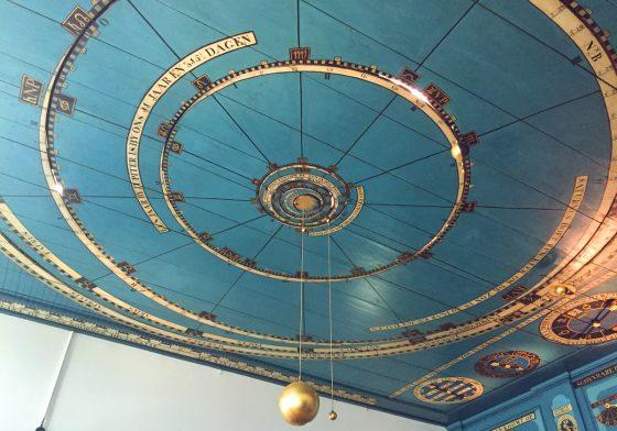 世界最古の動くプラネタリウム「ロイヤル・エイセ・エイシンガ」