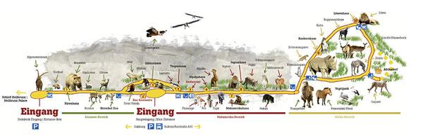動物園地図