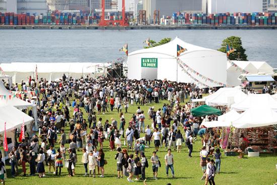 ハワイ州観光局、日本初の屋外VRドームを旅祭で設置!