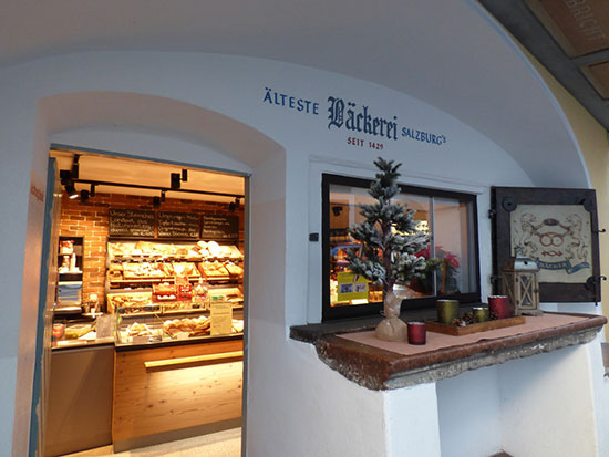 1429年創業のベッカライ「Älteste Bäckerei Salzburg」