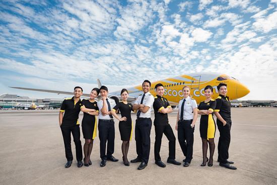 スクート日本就航5周年、記念キャンペーンは税込5,555円~