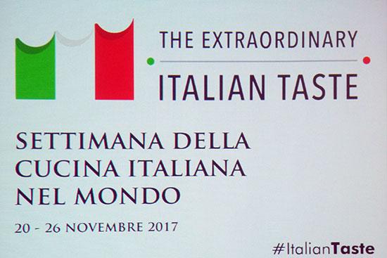 日本における「第2回世界イタリア料理週間」が開幕