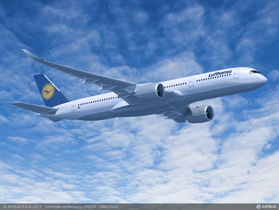 ルフトハンザ、エアバス A350-900型機 を羽田/ミュンヘン線に導入