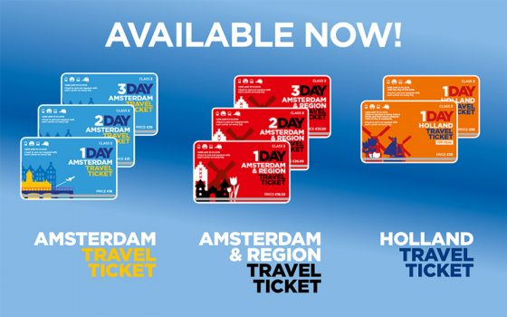 Holland-travel-ticket