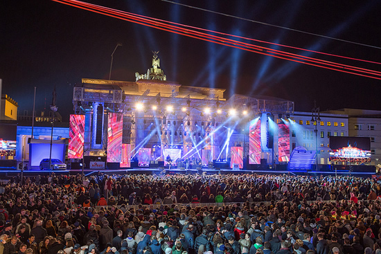 ベルリンで大晦日と新年を祝う