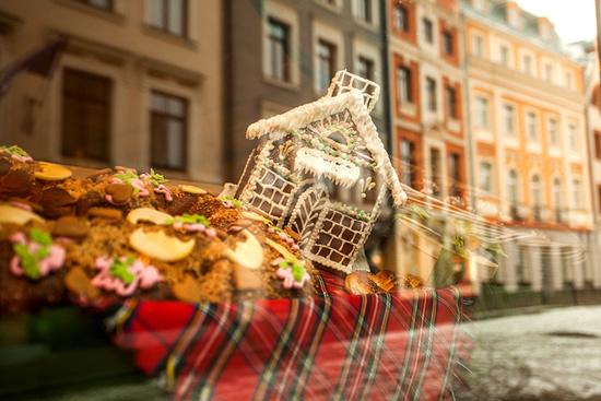 ラトビアのクリスマス