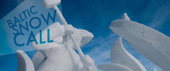 ナッリカリの国際雪像コンテスト「バルティックスノーコール」
