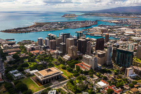 honolulu downtown